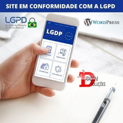 Site em complace LGDP Datacom Solucoes 1